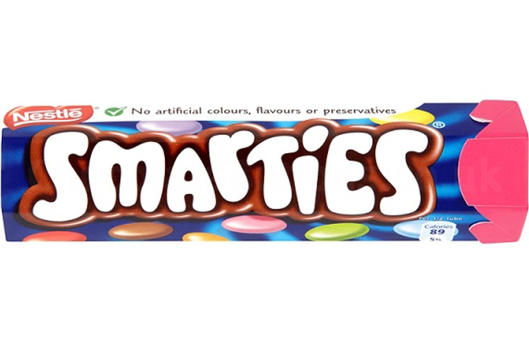 Smarties Hexatube 38g 488