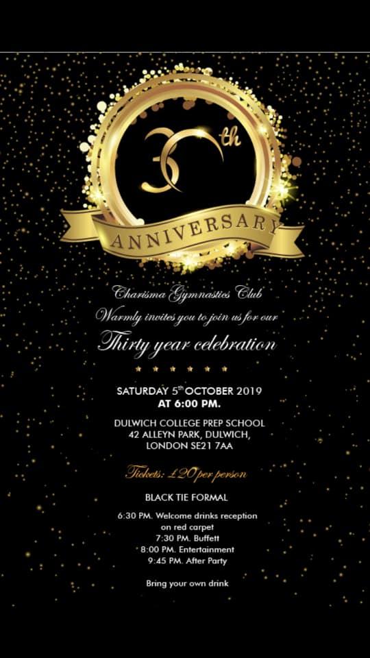 Charisma's 30th Anniversary
