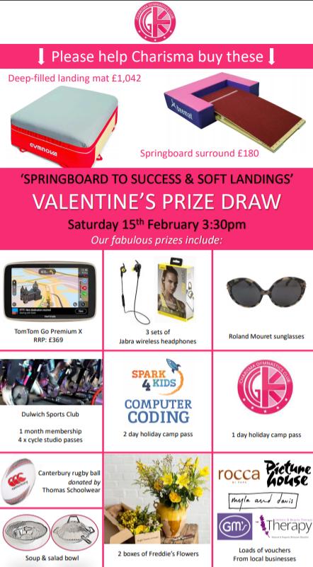 Charisma Valentine's Prize Draw